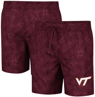 Colosseum Men's Maroon Virginia Tech Hokies Kavai Swim Trunks