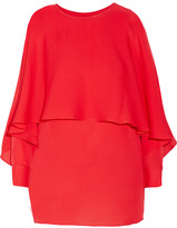 Rachel Zoe Reine layered silk-organza top