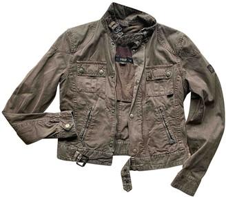 Belstaff Brown Cotton Jacket for Women