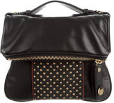 Mayle Leather Fold-Over Crossbody