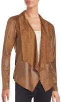 Bagatelle Open Front Long Sleeve Jacket