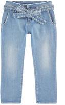 Le Temps Des Cerises Carrot cut stone-washed denim jeans