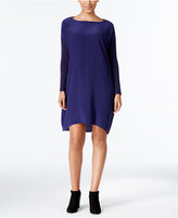Eileen Fisher Silk High-Low Shift Dress