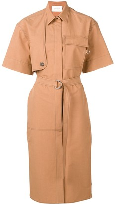 Cédric Charlier Belted Dress