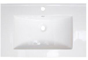 "American Imaginations Drop-in 21"" Single Bathroom Vanity Top Faucet Mount: Single Hole"