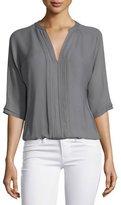 Joie Marru 3/4-Sleeve Silk Top