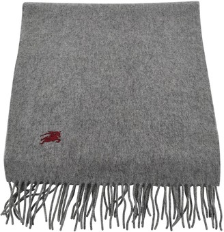 Burberry Grey Cashmere Scarves