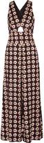 Temperley London Clarion printed silk jumpsuit