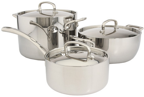 Cuisinart French Classic Tri-Ply Stainless 10-Piece Set