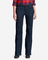 Eddie Bauer Women's Elysian Denim Trousers - Curvy