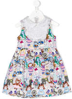 Simonetta printed dress