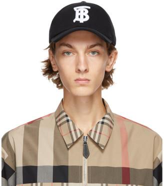Burberry Black TB Baseballl Cap