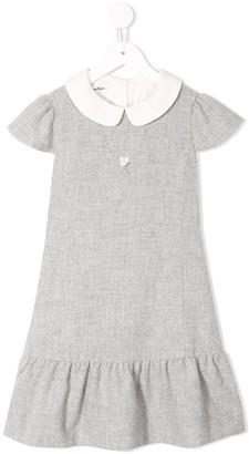 Familiar peter pan collar dress