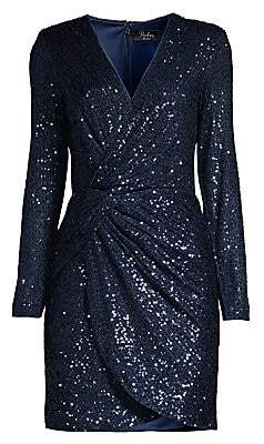 Parker Black Women's Philipa Sequin Twist-Front Dress