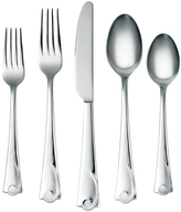 Cambridge Silversmiths Maya Mirror Corelle Boutique 45-Piece Flatware Set
