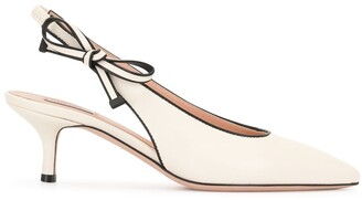 Bally Bow-Detail Pointed Pumps