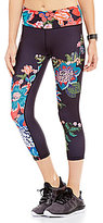 Nanette Lepore Play Active Printed Smooth Capri Pant