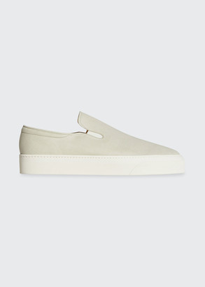 The Row Marie H Tonal Slip-On Sneakers