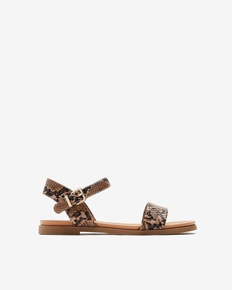 Express Open Toe Ankle Strap Sandals