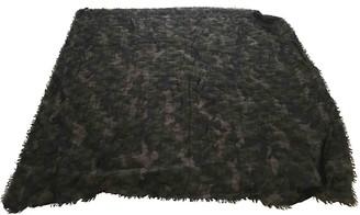 Valentino Green Wool Scarves & pocket squares