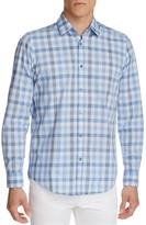 BOSS Lukas Check Regular Fit Button-Down Shirt