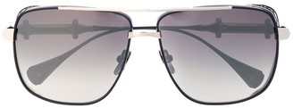 EQUE.M Chivaly square oversized sunglasses