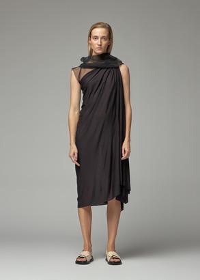 Rick Owens Lilies Women's Tulle Dress in Black Size 38
