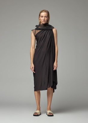 Rick Owens Lilies Women's Tulle Dress in Black Size 38