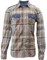 Buffalo David Bitton Men's Sagrit Long Sleeve Button Down Shirt