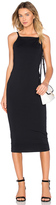 David Lerner Low Back Midi Dress