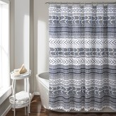 Lush Decor Hygge Geo Shower Curtain