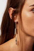 Free People Caged Crystal Earrings