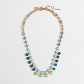 J.Crew Factory Factory crystal dot necklace