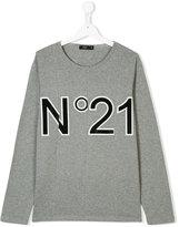 No21 Kids paneled logo top