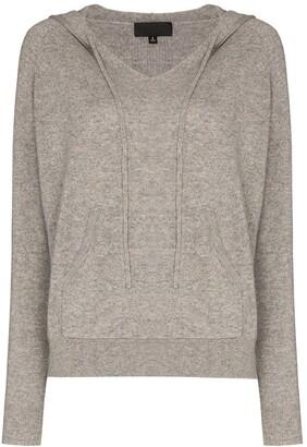 Nili Lotan Albany hooded cashmere jumper