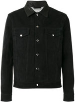 Golden Goose Deluxe Brand buttoned jacket - men - Calf Leather/Polyester/Viscose - M