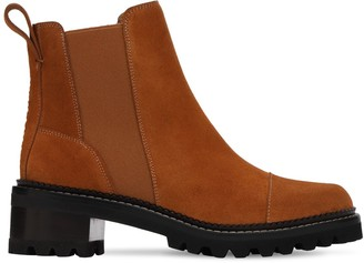 See by Chloe 45mm Suede Ankle Boots