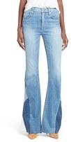 Hudson Women's 'Laurel' Patchwork Flare Jeans