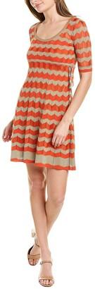 M Missoni Drawstring Mini Dress