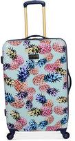 "Jessica Simpson Pineapple Hardside 25"" Spinner Suitcase"