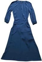 Vanessa Seward Blue Silk Dress for Women