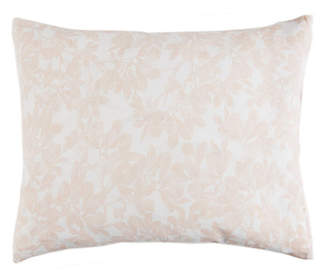 Caskata Cotton Canvas Lumbar Pillow With Feather and Down Insert Bedding