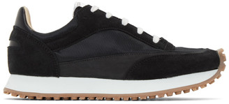 Spalwart Black Mesh Tempo Low Sneakers