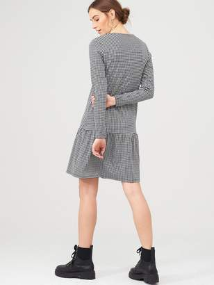 Very Jacquard Drop Waist Dress