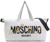 Moschino Kids - logo baby bag - kids - Cotton/Polyester/Spandex/Elastane - One Size