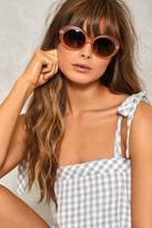 Nasty Gal nastygal Oval and Out Shades