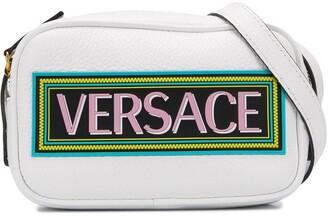 Versace 90s Vintage Logo shoulder bag