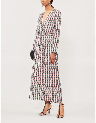 Alexis Cosgrove satin dress