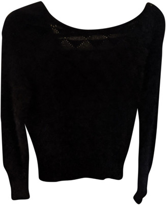 Aquascutum London Black Wool Knitwear
