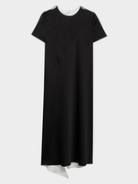 DKNY Reversible Layered Dress